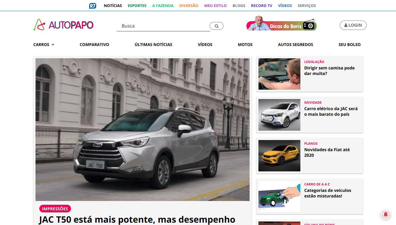 Manutenção Site WordPress Autopapo