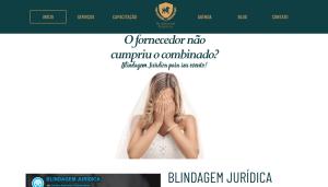 Criação Site WordPress Blindagem Jurídica