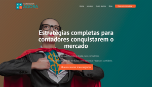 Migração Site WordPress Contador Agora