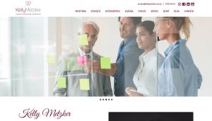 Criação Site WordPress Kelly Metzker