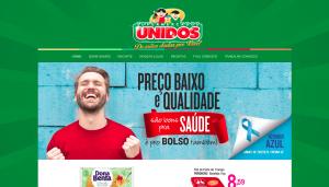 Manutenção Site WordPress Supermercados Unidos