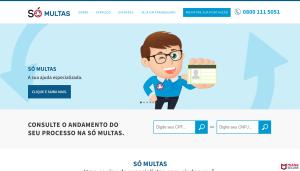 Manutenção Site WordPress Só Multas