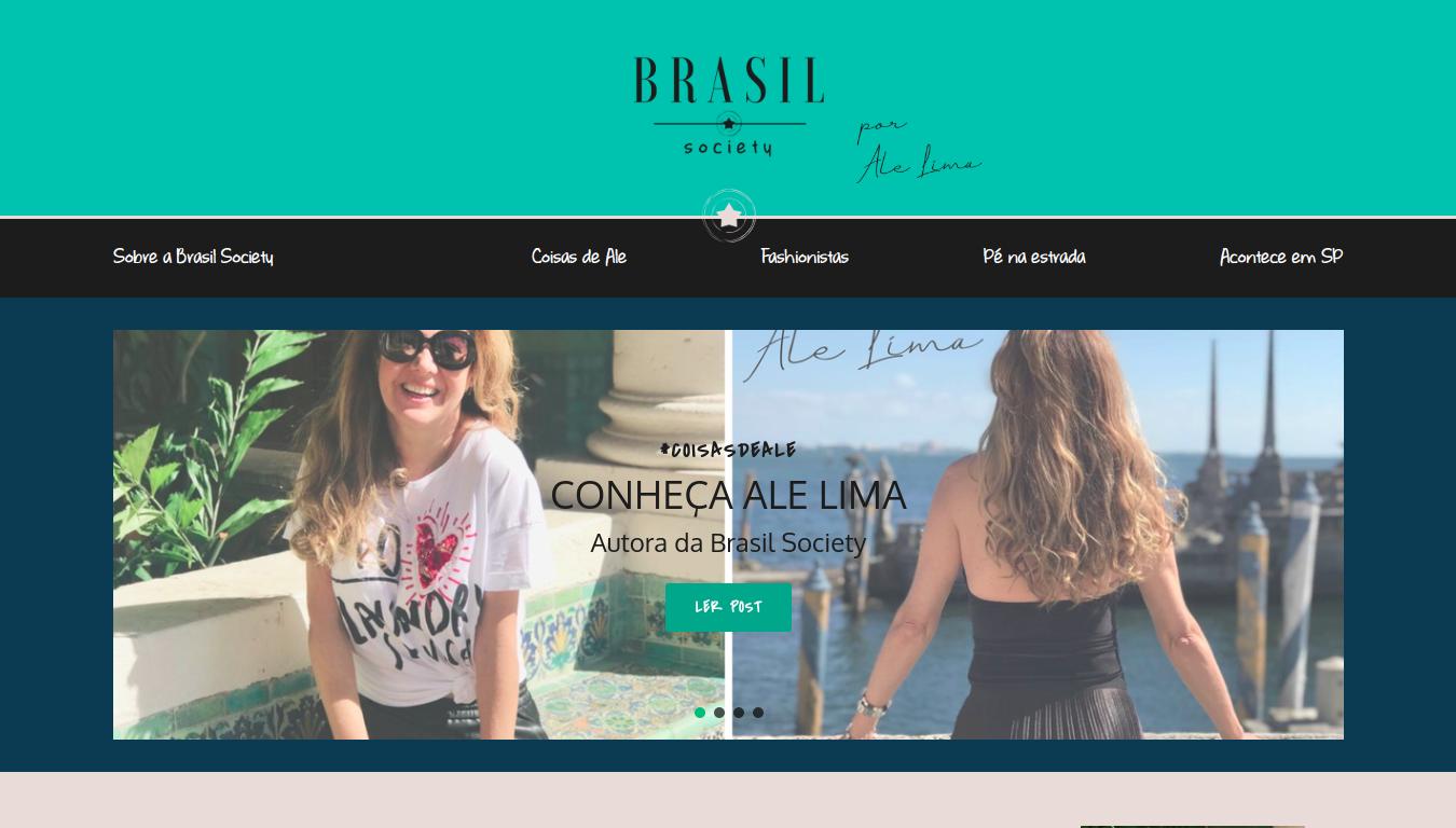 Criação de site Brasil Society